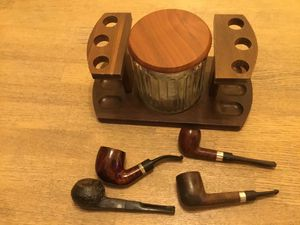 Pipe collection with stand and jar for Sale in Portsmouth, VA