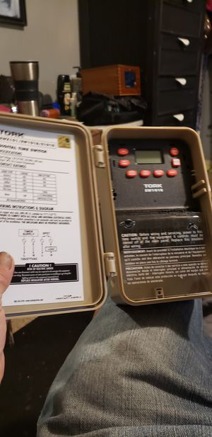 Tork digotal time switch for Sale in Orlando, FL