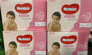 Huggies Soft Skin Wipes 560 count for Sale in Industry, CA