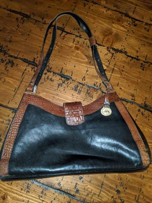 Brahmin Black Leather and Crocodile for Sale in Glendale, AZ