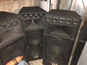 4 DFX Pro Audio speakers for Sale in Firestone, CO
