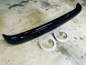 55-59 Chevy front bumper and 55-57 headlight bezels for Sale in La Mesa, CA