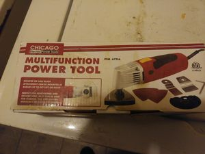 Chicago Electric Power Tools Oscillating Multifunction Power Tool for Sale in Mount Laurel, NJ