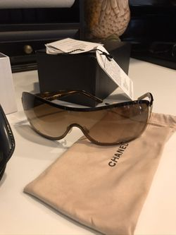 Chanel Sunglasses, Bronze tiny for Sale in Alexandria,  VA