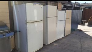 Fridge refrigerator freezer frigidaire Kenmore emerson whirlpool apartment sized delivery available stainless steel appliances refri refrigerador apli for Sale in San Bernardino, CA