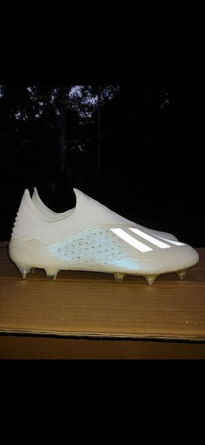 Adidas X 18+ sg soccer cleats size 12.5 for Sale in Cumming, GA