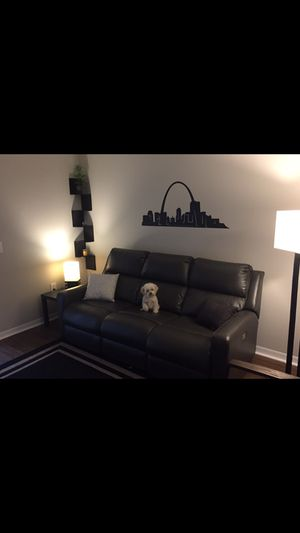 Leather couch for Sale in Delray Beach, FL