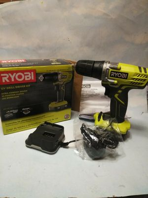 Ryobi 12 volt Drill / Driver Kit for Sale in Waterbury, CT