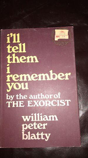 William Peter blatty novel for Sale in KINGSVL NAVAL, TX