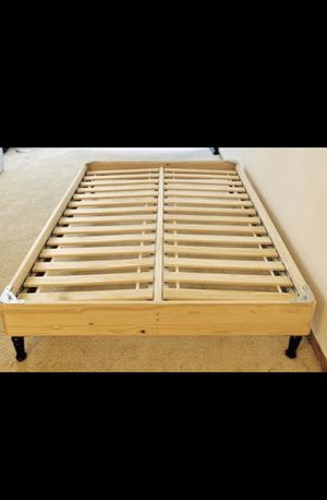 Ikea bed base frame queen size for Sale in Des Plaines, IL