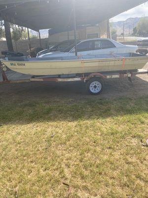Jon boat w/trailer for Sale in Tempe, AZ