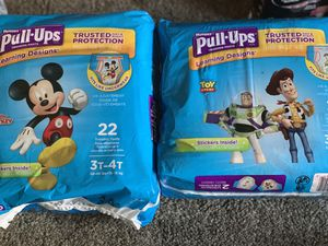 Huggies pull ups 3t-4t for Sale in Chicago, IL