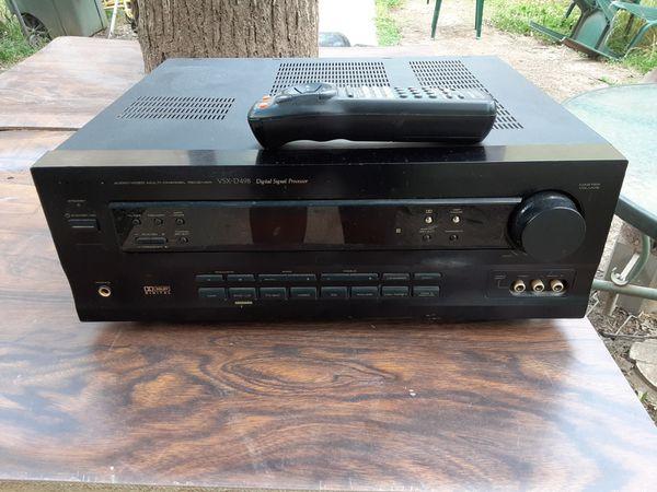 500 watts Pioneer surround sound receiver with remote control