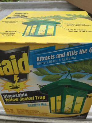 Raid Bee killer trap yellow jacket trap for Sale in Lowell, MA