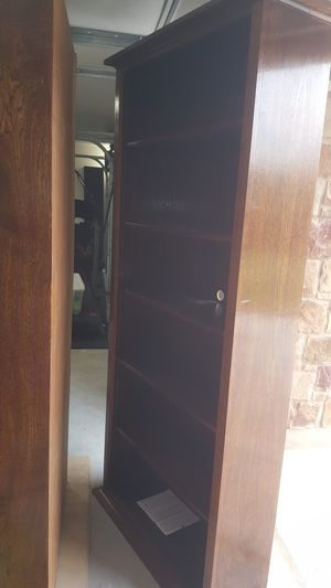 2 book shelves. 39 inches wide. 12 inces deep. 85 inches tall. Adjustable shelves for Sale in Leander, TX