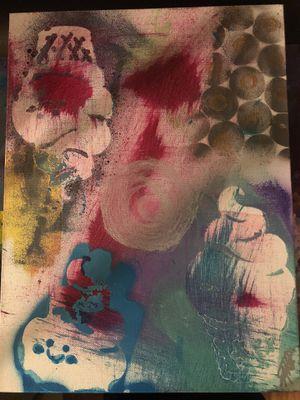 Original Graffiti/Pop Art Painting,Signed,W/COA,Tabsch, for Sale in Doral, FL