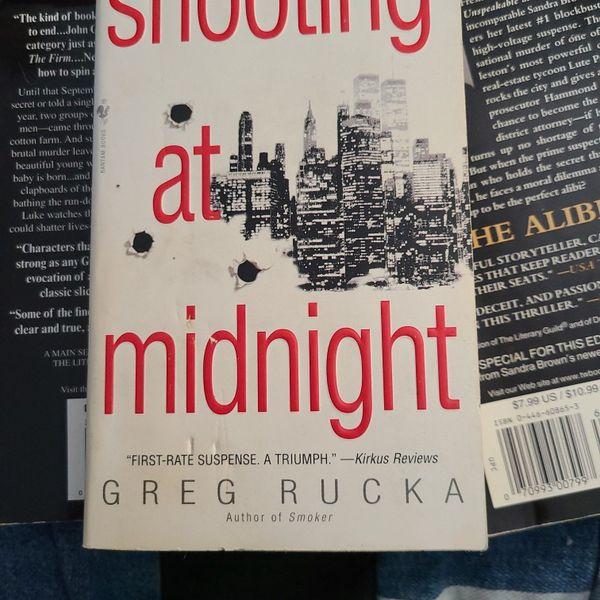 Shooting At Midnight, Greg Rucka, Paperback