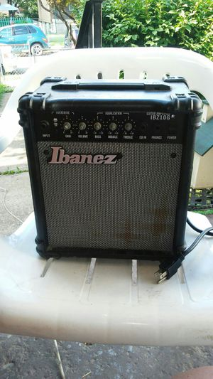 Ibandz guitar amplifier works fine for Sale in Columbus, OH