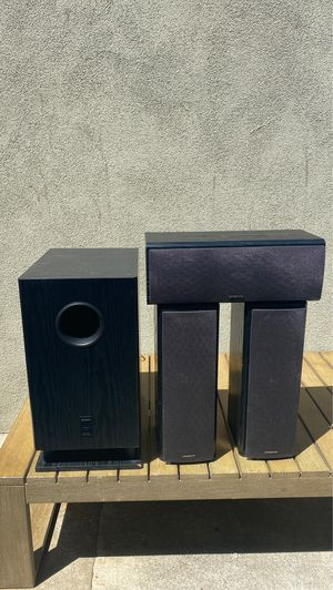 Onkyo speakers for Sale in Solana Beach, CA