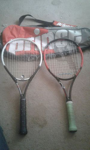 Prince tennis rackets for Sale in Mesa, AZ
