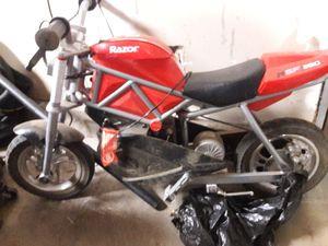 Razor speed bike kids motorcycle rsf 350 for Sale in San Diego, CA