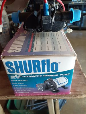 SHURFLO PUMP , NEW for Sale in Perris, CA