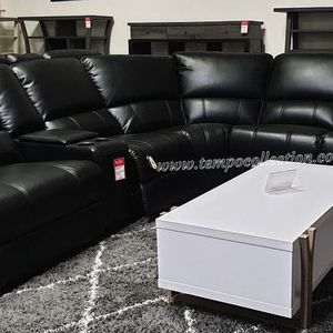 NEW, Euro 3 PC Gray Power Motion Sectional Sofa Recliner for Sale in Tustin, CA