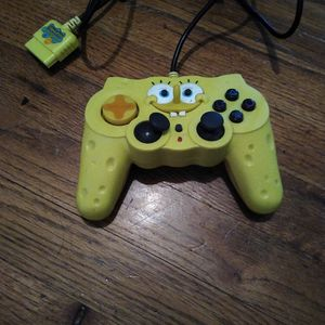 Nickelodeon SpongeBob SquarePants PlayStation 2 PS2 Yellow Controller for Sale in Portland, OR