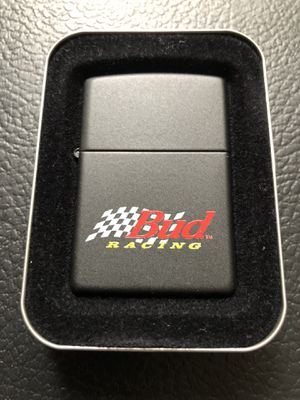 Vintage Bud Racing zippo for Sale in Clinton Township, MI