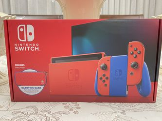 NEW Nintendo Switch Mario Red Blue Edition for Sale in Damascus,  OR