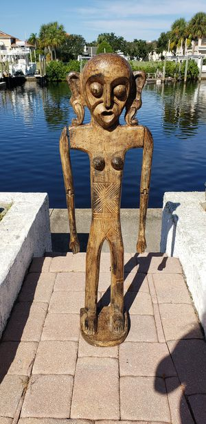 Swinging Arms Statue Sculpture African Africa for Sale in New Port Richey, FL