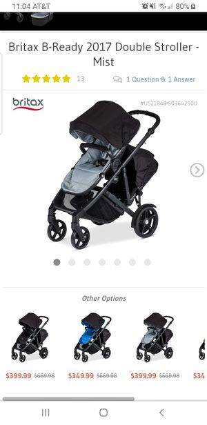 Britax Double Stroller for Sale in Greenville, NC