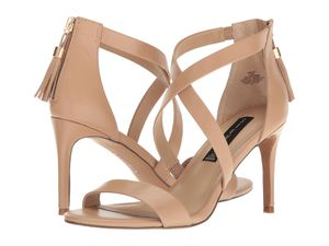 Steve Madden Nude Strappy Sandals (7.5) for Sale in Margate, FL