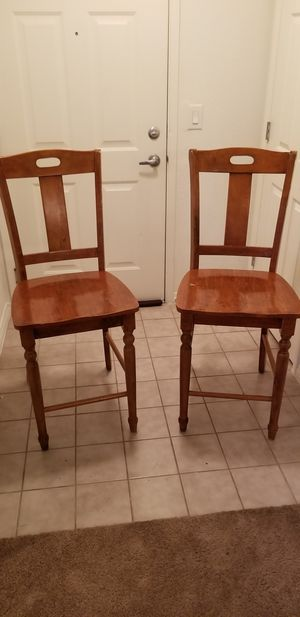 Breakfast bar / high table chairs for Sale in Las Vegas, NV