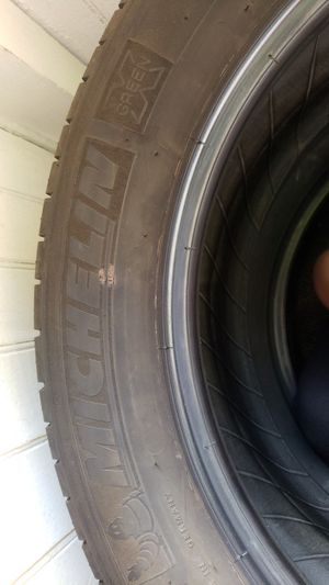 1 used Michelin tire with half tread available 235/50/17 for Sale in Sunbury, PA