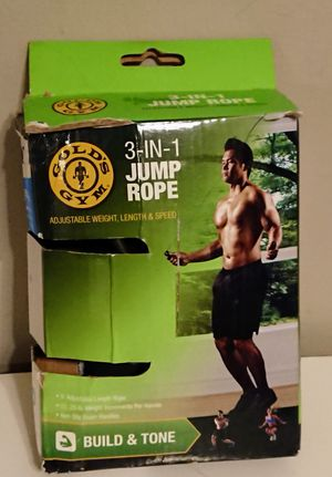 Goldy's 3 in1 Jumprope for Sale in Chicago, IL