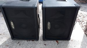 KUSTOM DJ SPEAKER'S for Sale in Dover, FL