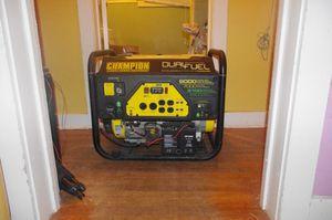 Generator Champion 9000 Watts for Sale in Houston, TX