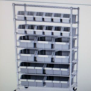 Storage Cart With Bins for Sale in Hollywood, FL