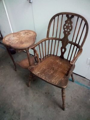 Antiques chair and table for Sale in West Los Angeles, CA