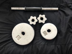 Adjustable dumbbell for Sale in Campbell, CA