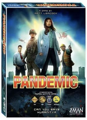 Brand New Pandemic Board Game by Z-Man Games for Sale in Pemberton, NJ