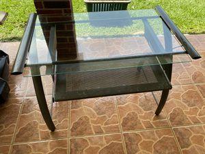Glass computer desktop for Sale in Houston, TX
