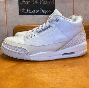 Jordan Retro 3 Pure Money for Sale in Le Sueur, MN