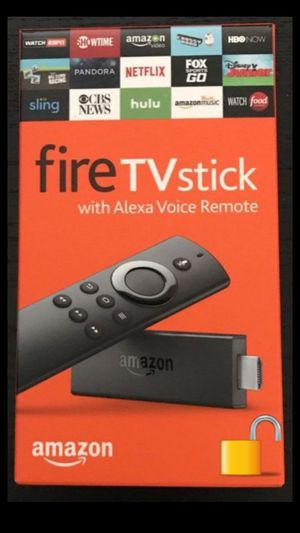 🔓 Amazon Fire TV Stick for Sale in Sunset Valley, TX