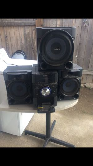 Sony stereo system for Sale in Bakersfield, CA
