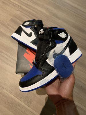 Air Jordan 1 royal toe size 4y deadstock for Sale in Miami, FL
