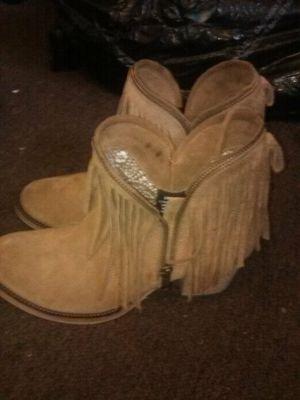 Dingo fringe boots for Sale in Albuquerque, NM