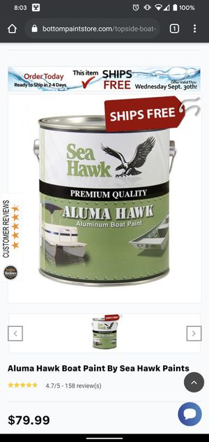 Brand new aluminum paint all in one for Sale in Kingston, MA