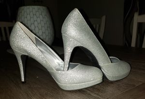 Silver Sparkle Heels for Sale in Andover, MA
